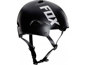 fox flight sport helmet black FO20184001 PAR rear