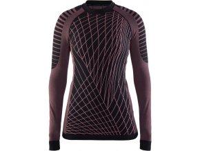 CRAFT triko Active Intensity dámské černo/růžové