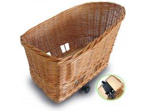 Košík na nosič Basil Pasja L