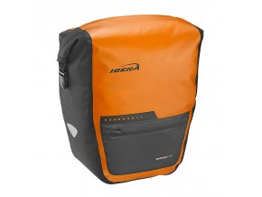 Brašna nosičová Ibera BA20 vodotěsná Panniers oranžová