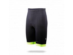 10920 bbw 214 powerfit shorts black neon yellow front45 2906921442