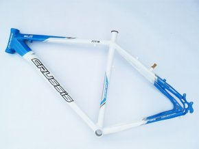"Rám Crussis MTB line 27.5"" bílo/modrá"