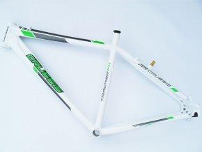 Rám Crussis Tracker FX 700c bílo/zelená
