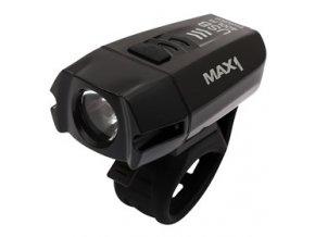 svetlo pr MAX1 predni USB Evolution 400Lm 1LED Alu a69076122 10639