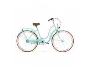 damsky mestsky bicykel le grand 28 madison 3 celadon glossy darcek