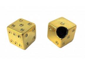 Čepička ventilku CC. / Kostky zlaté
