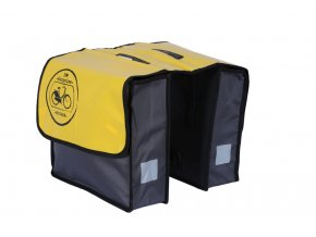 Brašna na nosič Basil Fietstas žlutá