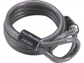 Kabel k zámku BBB BBL-22 ExtraCoil 10x1800mm