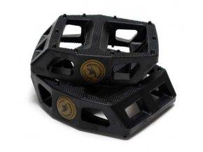 12160 animal hamilton plastic pedals solid black