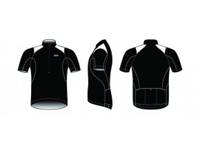 Dres BBB BBW-105 ComfortFit černý