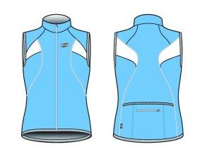 Dres BBB BBW-108 CoolGirl modrý