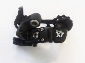 Měnič SRAM X7, střední ramínko, 9 rychlostí