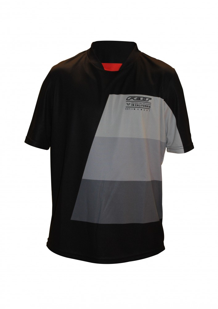 FELT tričko XC krátký rukáv 2017 černo-šedé M d885096a75