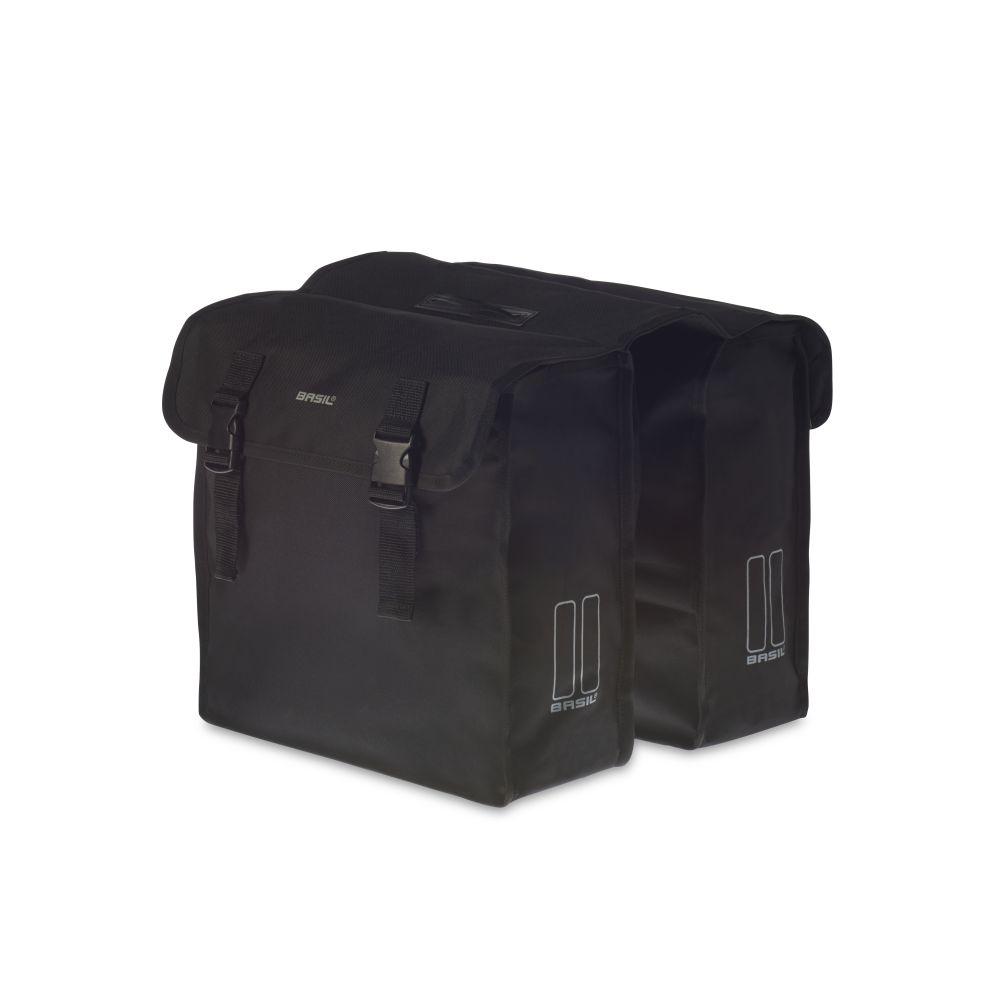 Brašna na nosič Basil Mara XL černá oboustranná
