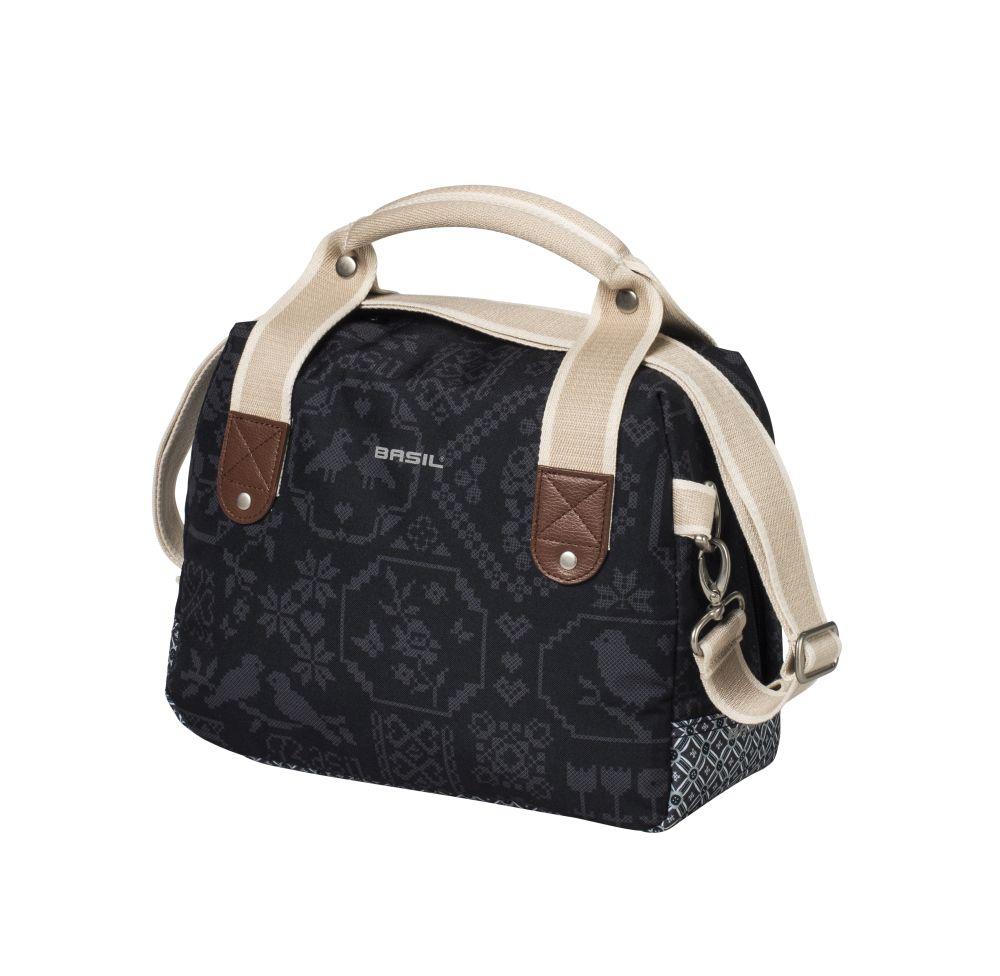 Brašna na nosič Basil Boheme-City Bag jednostranná modrá
