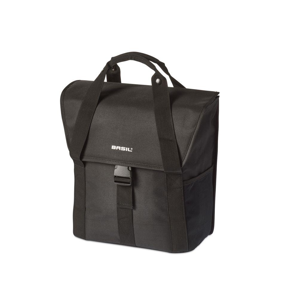 Brašna na nosič Basil Go-Single Bag jednostranná černá
