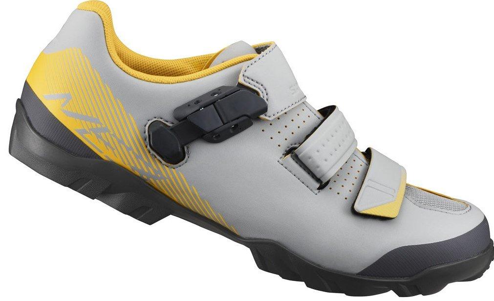 Pánské MTB tretry Shimano SH-ME300 šedá/žlutá šedá, 43