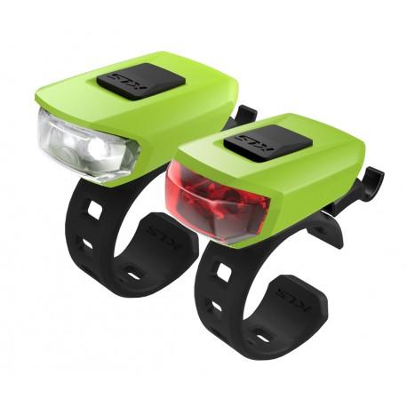 Osvětlení set KLS VEGA lime/green