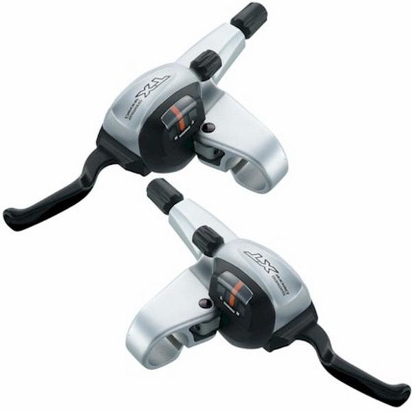 Brzdové a řadící páky Shimano ST-M760 XT Dual 3x9