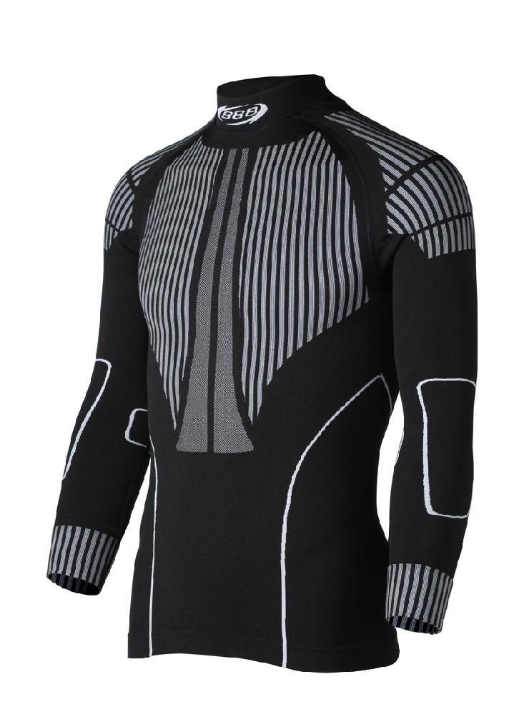 Cyklistické prádlo BBB BUW-12 ThermoLayer pánské termoprádlo + reflexní pásek zdarma M/L