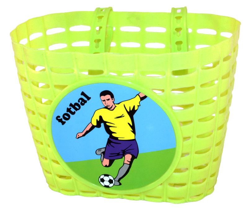 Košík na kolo dětský plastový