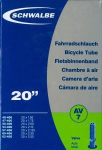 "Duše na kolo Schwalbe 20"" AV7"
