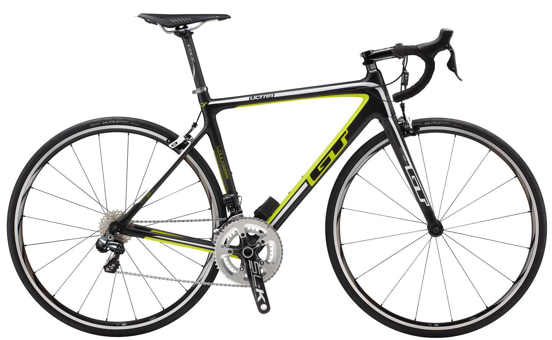 Silniční kolo GT Ultra Carbon Di2 2014 černá, 54 cm, M
