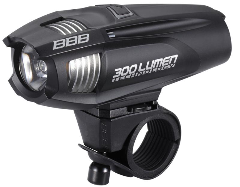 Přední světlo na kolo BBB BLS-71 Strike 300 bílá