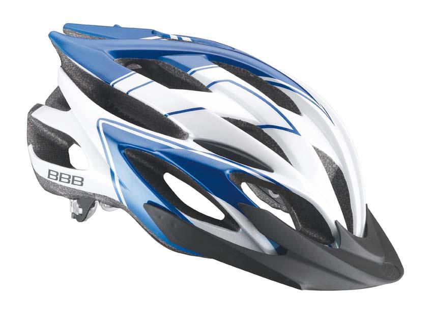 Cyklistická přilba BBB BHE-04 Moco bílá M
