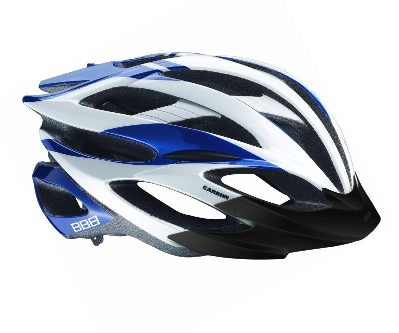 Cyklistická přilba BBB BHE-02 Everest modr/bílo/stř.M