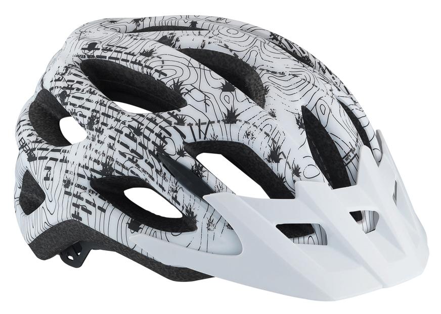 Cyklistická přilba BBB BHE-67 Varallo bílý mat M