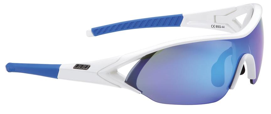 Cyklistické brýle BBB BSG-44 Impact MLC bílé modrá MLC