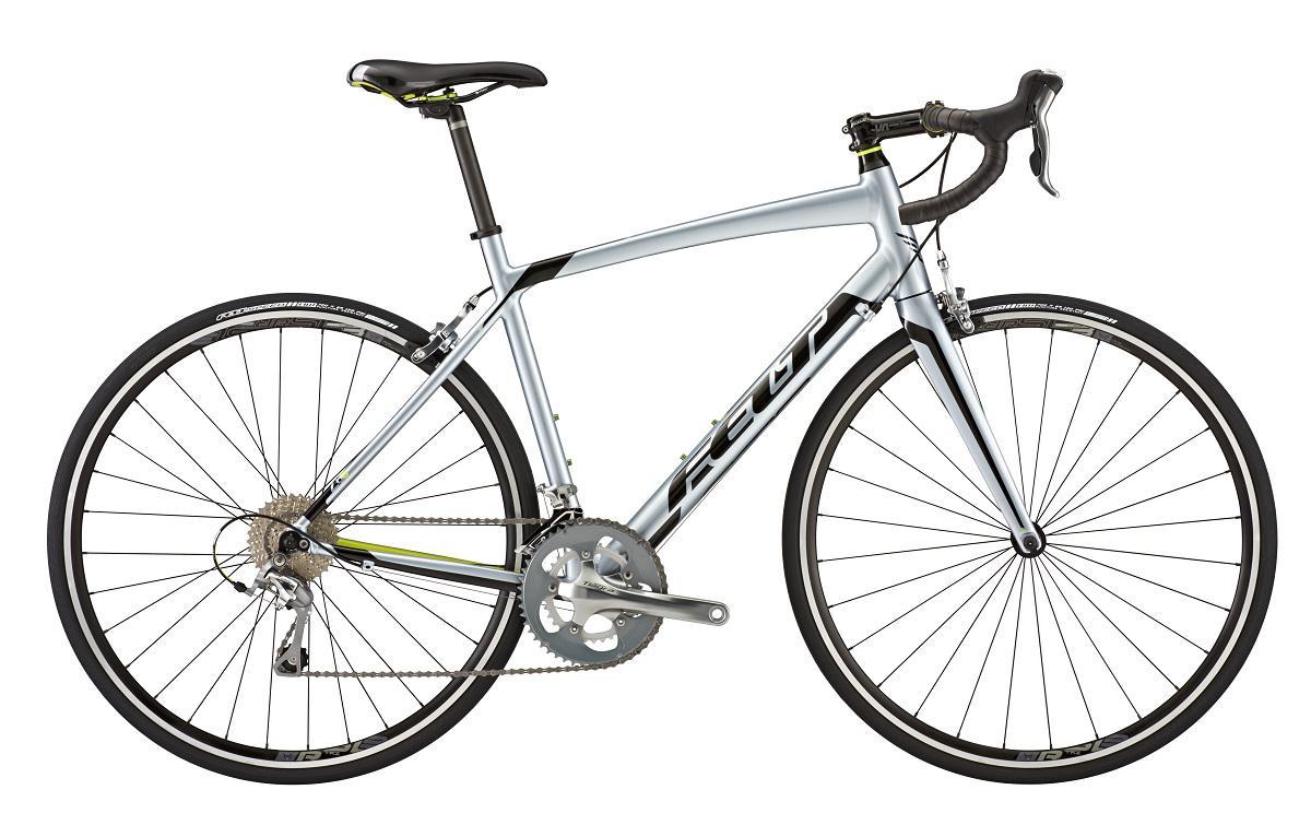 Silniční kolo FELT Z 85 2015 + cyklovýbava BSB-51 za 799 Kč zdarma šedá/stříbrná, 54 cm