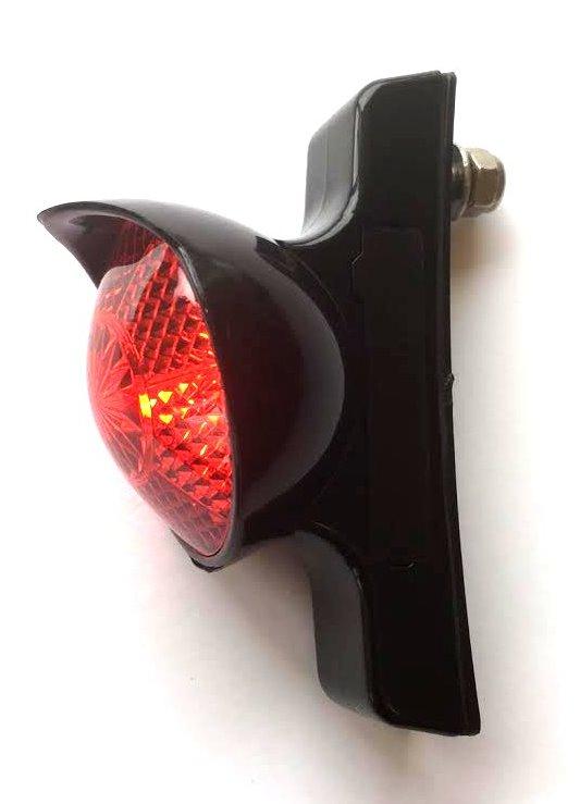 Světlo zadní RETRO CP Classic Cycle Black battery