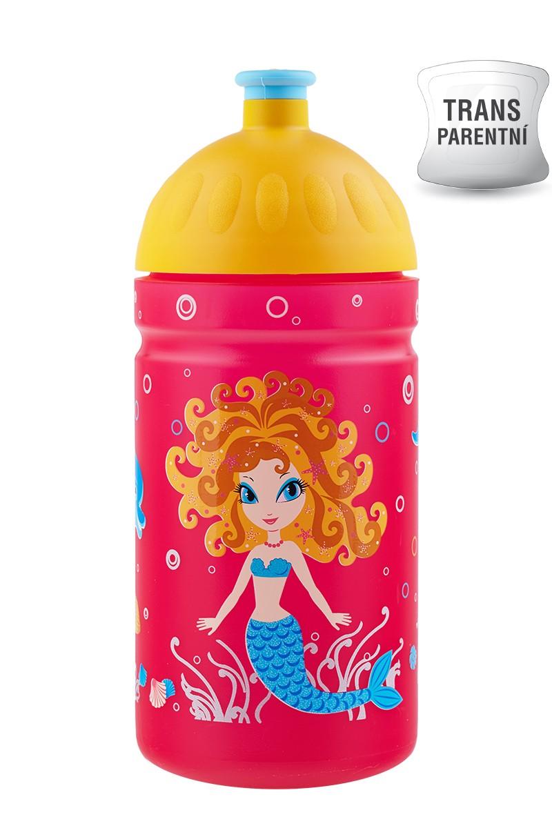 Dětská láhev na kolo zdravá 0.5l mořská panna