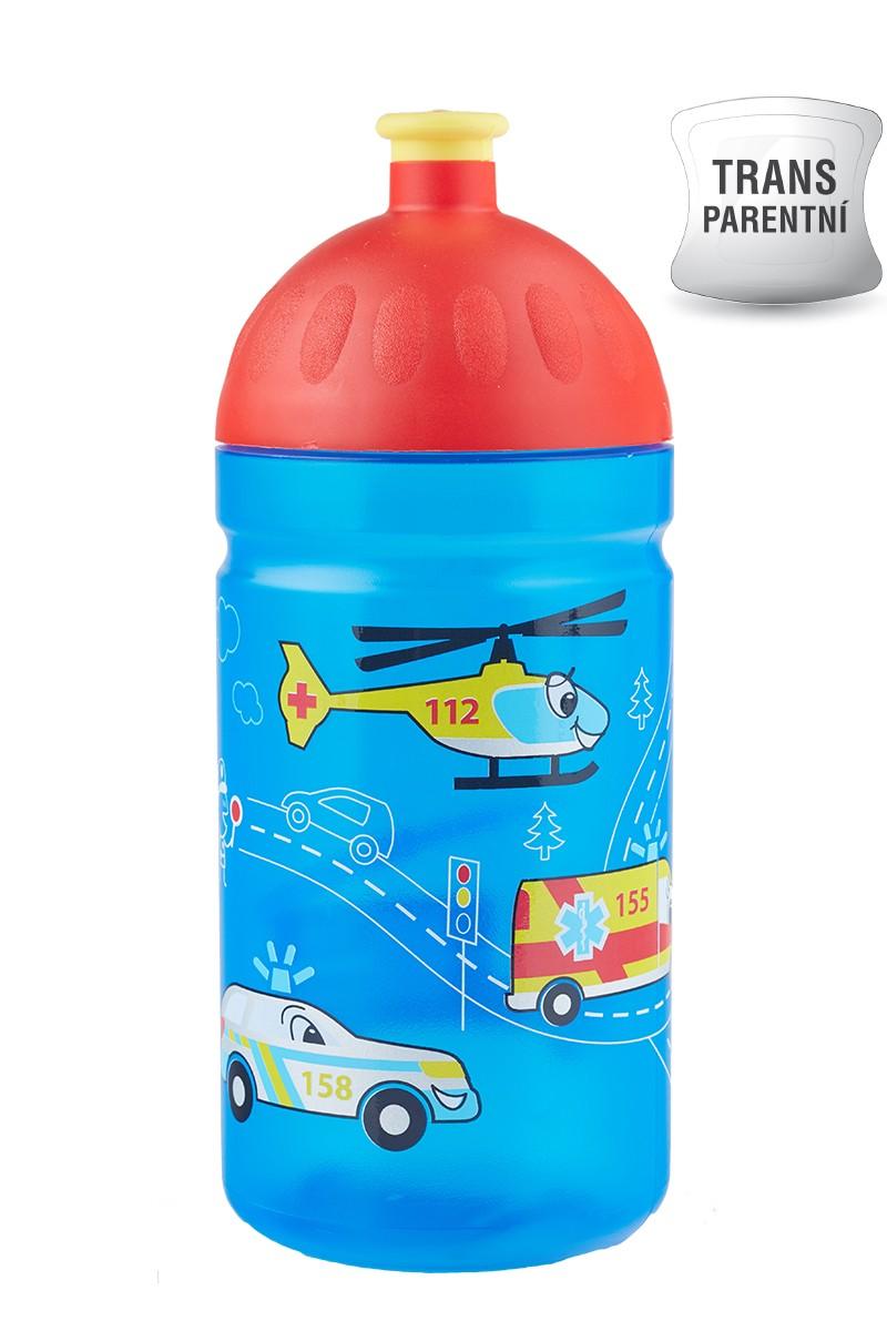 Dětská láhev na kolo zdravá 0.5l záchranáři