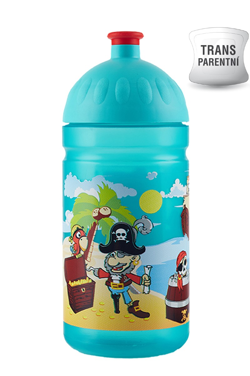Dětská láhev na kolo zdravá 0.5l piráti