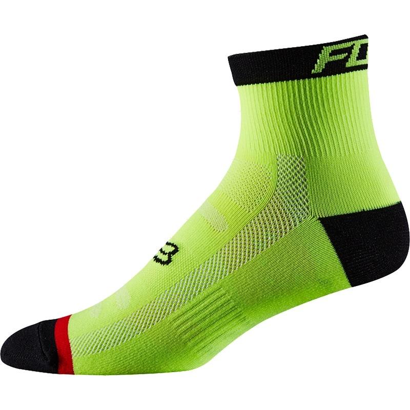 """Ponožky FOX trail 4"""" L/XL černá"""