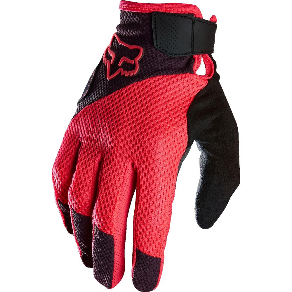 Dámské rukavice na kolo FOX RACING Reflex L PLM růžové
