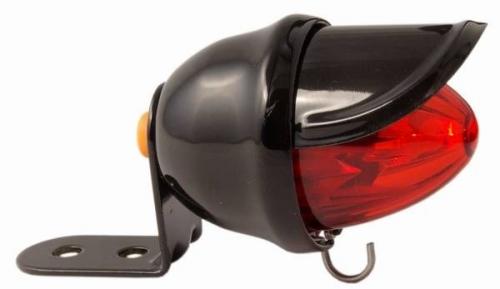Světlo na kolo zadní Tail light baby bee Classic Cycle černé