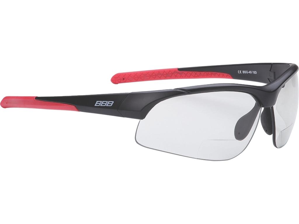 Cyklistické brýle BBB BSG-49 Impresse Reader PH fotochromatické na krátkozrakost + reflexní pásek zdarma +1.5