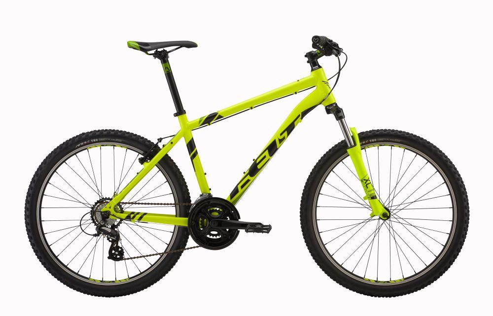 """Horské kolo 26"""" FELT SIX 95 2017 + cyklovýbava za 800 Kč zdarma žlutá/zlatá, 12"""""""