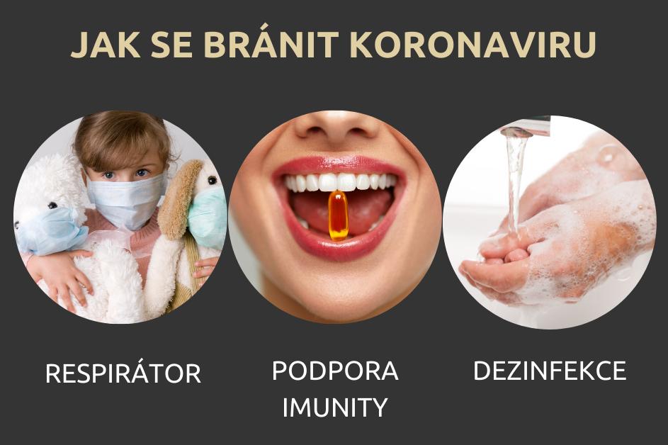 Jak se bránit proti koronaviru?