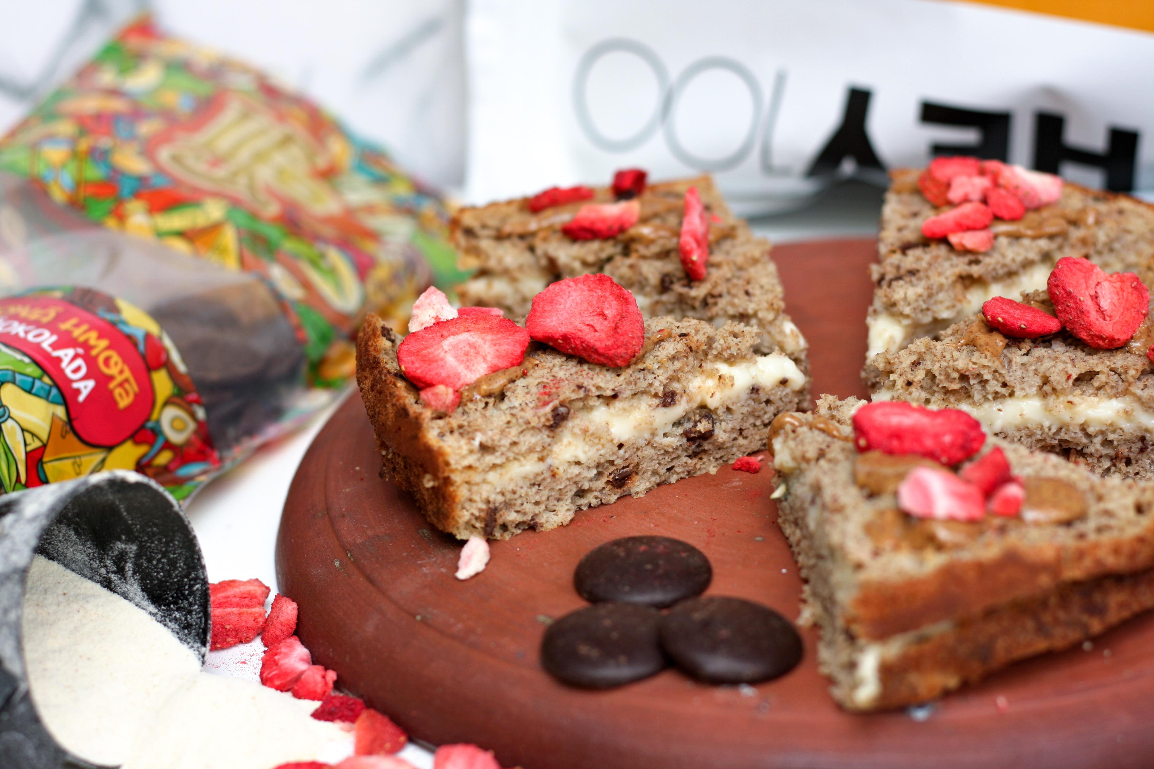 Recept: Zdravý kokosový koláč