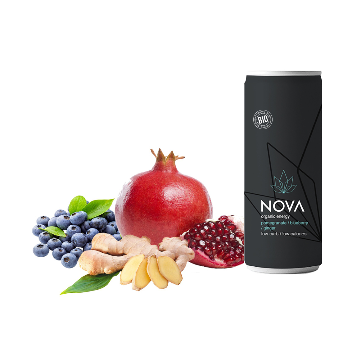 Nova organic energy pomegranate-blueberry-ginger(1)