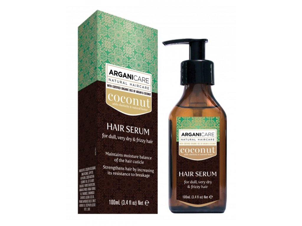 Arganicare COCONUT HAIR SERUM for dull, very dry & frizzy hair
