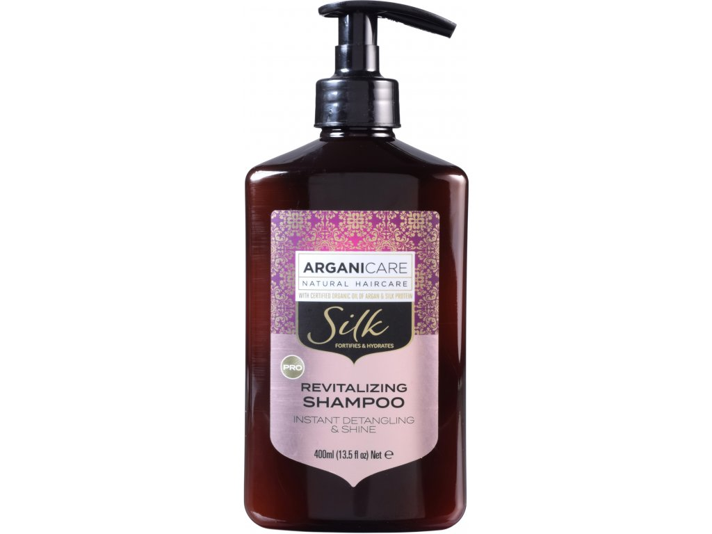 arganicare argan silk protein revitalizing shampoo