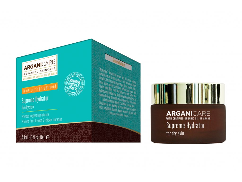 ARGANICARE SKIN CARE SUPREME HYDRATOR FOR DRY SKIN 50 ML