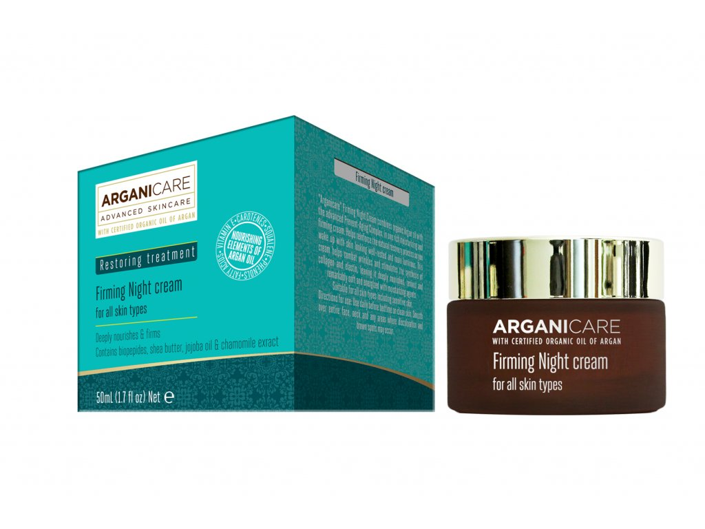 ARGANICARE SKIN CARE FIRMING NIGHT CREAM FOR ALL SKIN TYPES 50 ML
