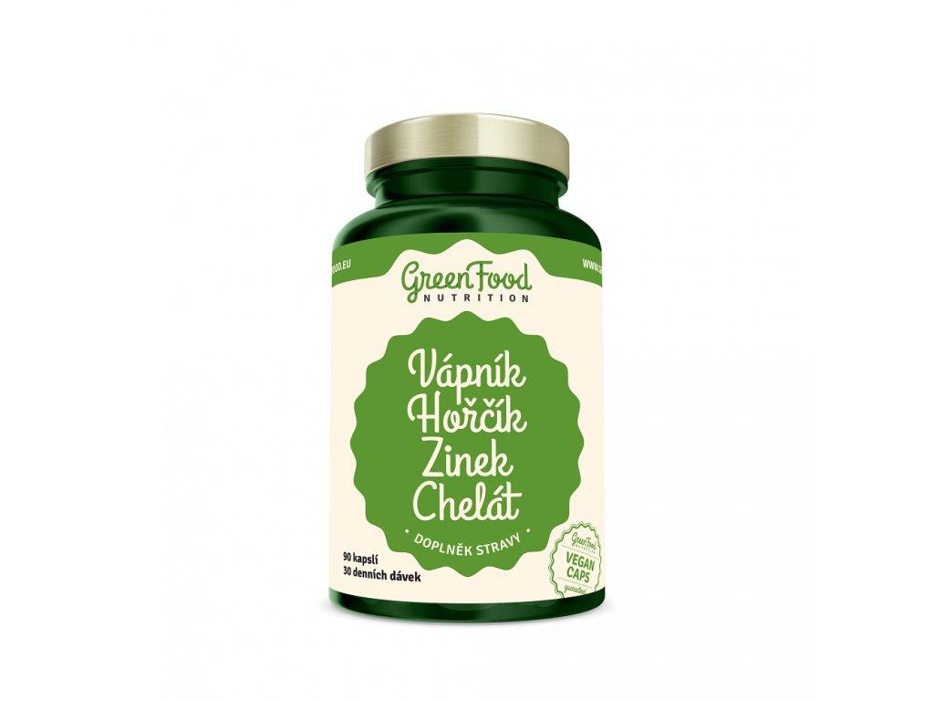 greenfood nutrition vapnik horcik zinek chelat